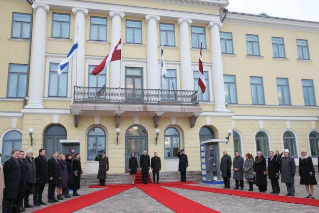 Общество, Официальный визит Президента Латвии в Финляндию | Сегодня - второй день двухдневного официального визита Президента Латвии Андриса Берзиньша в Финляндию