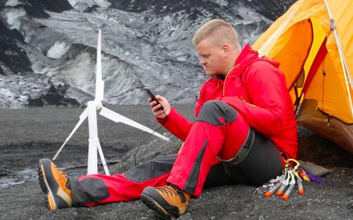 Калейдоскоп, Исландцы изобрели мобильную ветряную энергоустановку | Исландцы изобрели мобильную ветряную энергоустановку