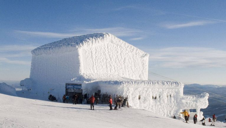Калейдоскоп, Шведским горнолыжным курортам грозят перебои со снегом | Шведским горнолыжным курортам грозят перебои со снегом
