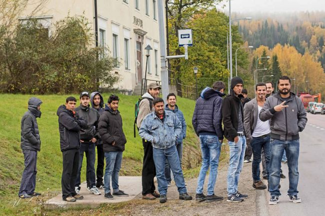 Общество, Швеция выступает за пересмотр законов Евросоюза о приёме беженцев |