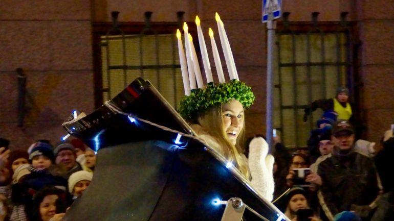 Культура, В Финляндии и Швеции отметили День Святой Люсии | В Финляндии и Швеции отметили День Святой Люсии