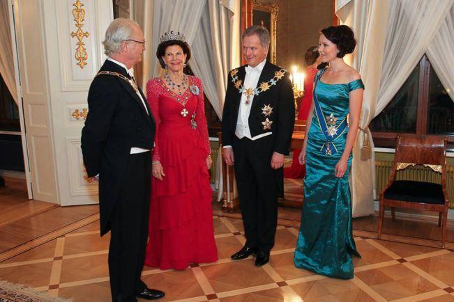 Общество, Завершился официальный визит шведской королевской четы в Финляндию | Завершился официальный визит шведской королевской четы в Финляндию