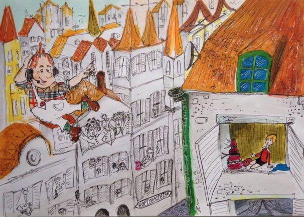 Статьи Калейдоскоп, 60 лет над крышами Стокгольма | 60 лет над крышами Стокгольма