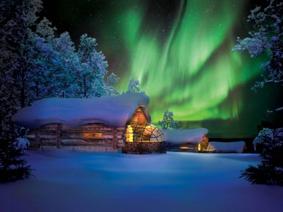 Туризм, В финской Лапландии открывается крупнейший в мире ресторан, построенный из местного сухостоя | В финской Лапландии открывается крупнейший в мире ресторан, построенный из местного сухостоя