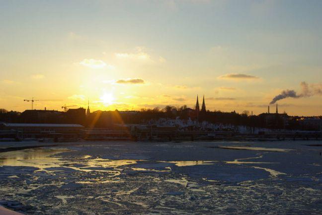 Калейдоскоп, Зимой на Балтике было зафиксировано рекордно малое количество льда | Зимой на Балтике было зафиксировано рекордно малое количество льда