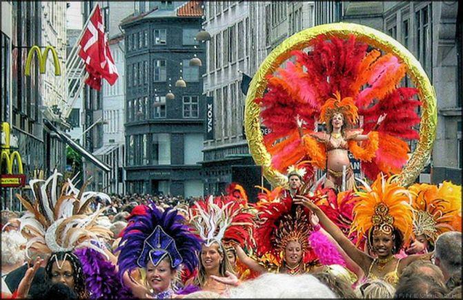 Общество, Копенгаген готовится к карнавалу | Копенгаген готовится к карнавалу