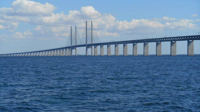 Калейдоскоп, Полицейская погоня на Эресуннском мосту : почти, как в фильме | Полицейская погоня на Эресуннском мосту : почти, как в фильме