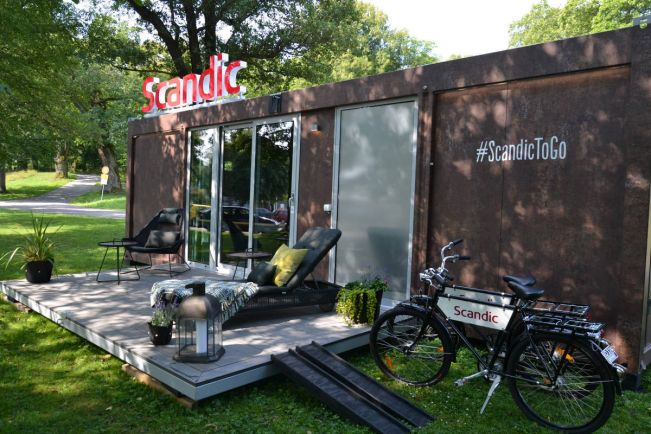Туризм, В Дании появился первый передвижной отель | В Дании появился первый передвижной отель