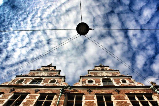 Культура, Датчанин напИсал картину в центре Копенгагена | Датчанин напИсал картину в центре Копенгагена