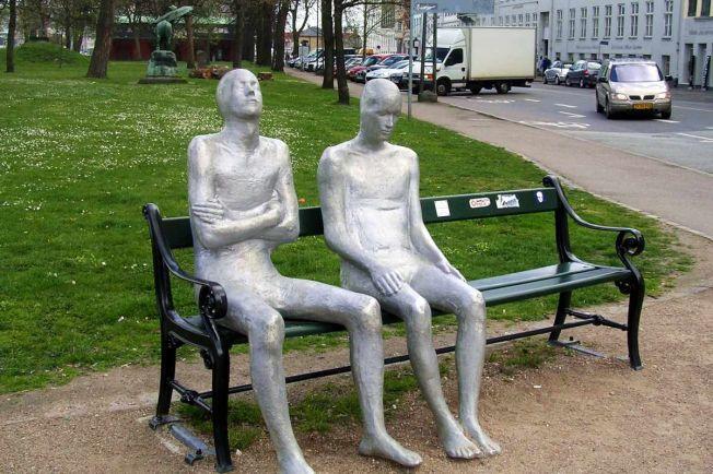 Общество, Скульптуру ценой 47 тысяч евро украли из центра Копенгагена | Скульптуру ценой 47 тысяч евро украли из центра Копенгагена
