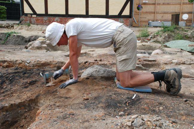 Калейдоскоп, В Дании найден отпечаток пальца возрастом 5500 лет | В Дании найден отпечаток пальца возрастом 5500 лет