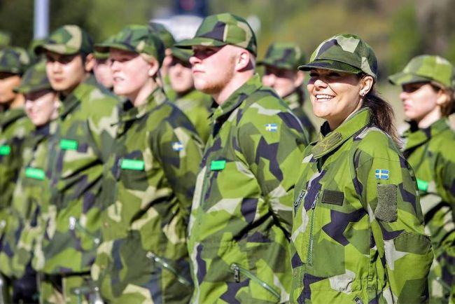 Калейдоскоп, Шведская армия запустила кампанию поддержки геев в своих рядах | Шведская армия запустила кампанию поддержки геев в своих рядах