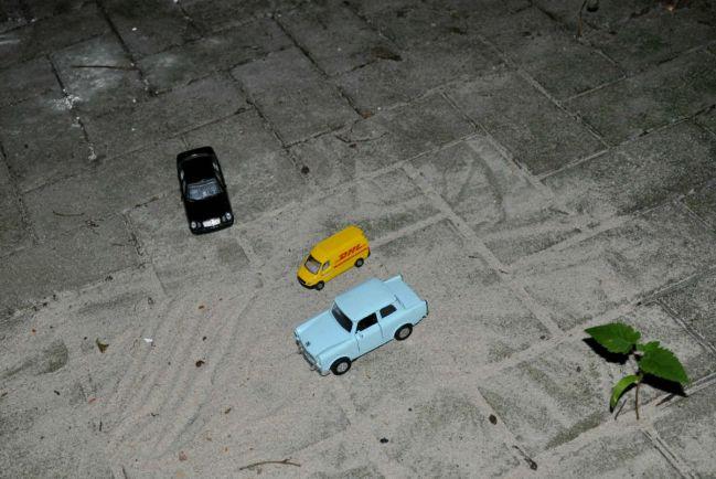 Калейдоскоп, В Финляндии двое малышей угнали машину |