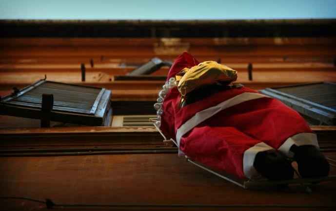 Калейдоскоп, В середине июля Копенгаген заполонили … Санта-Клаусы |
