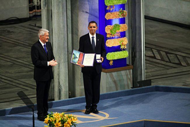 Общество, Директор Нобелевского института сожалеет о вручении премии Бараку Обаме | Директор Нобелевского института сожалеет о вручении премии Бараку Обаме