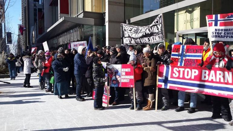Общество, Протесты против действий Норвежской службы опеки становятся глобальными | Протесты против действий Норвежской службы опеки становятся глобальными