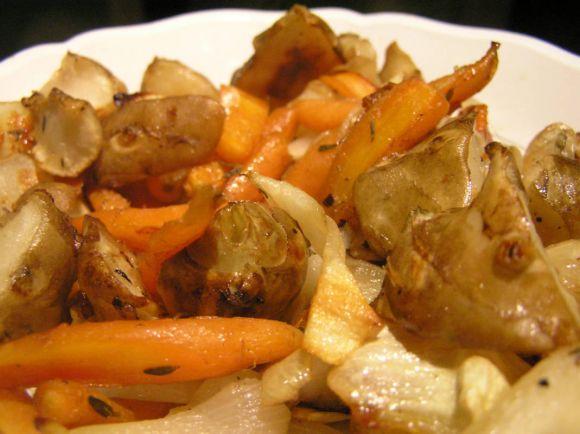 Рецепты, Камбала с топинамбуром и яблоками по-датски | Камбала с топинамбуром и яблоками по-датски