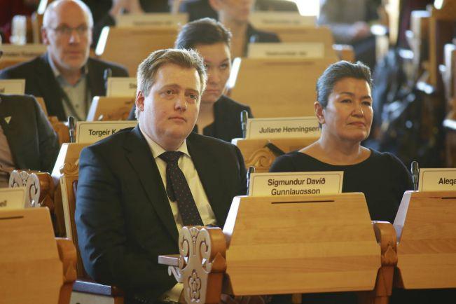 Общество, Публикация жены исландского премьера в социальной сети угрожает его карьере | Публикация жены исландского премьера в социальной сети угрожает его карьере