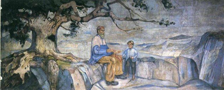 Культура, В Норвегии нашли украденную картину Эдварда Мунка | В Норвегии нашли украденную картину Эдварда Мунка