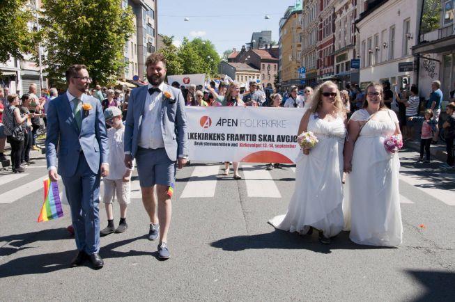 Калейдоскоп, Норвежская церковь официально разрешила геям венчаться | Норвежская церковь официально разрешила геям венчаться