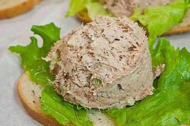 Рецепты, Tunmousse - мусс из тунца | Tunmousse - мусс из тунца