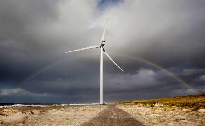 Бизнес, В Дании испытают «многопропеллерную» ветряную турбину | В Дании испытают «многопропеллерную» ветряную турбину