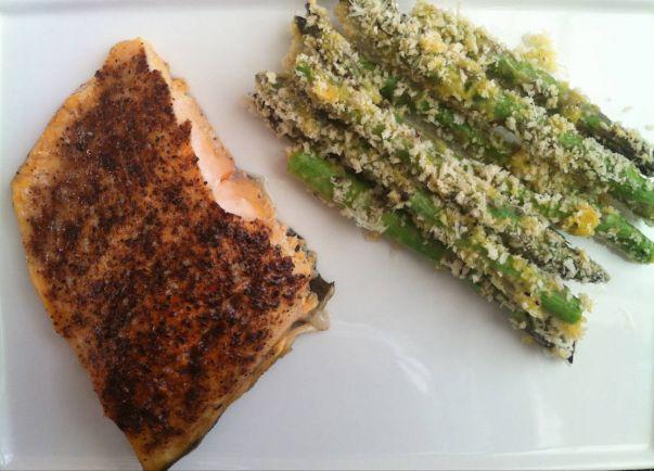 Рецепты, Хрустящая запеченная спаржа с сыром по-Вестерботтенски | Хрустящая запеченная спаржа с сыром по-Вестерботтенски