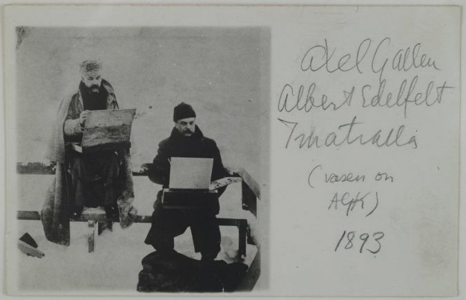 Статьи Культура, Альберт Эдельфельт  (1854–1905)  художник | Альберт Эдельфельт  (1854–1905)  художник