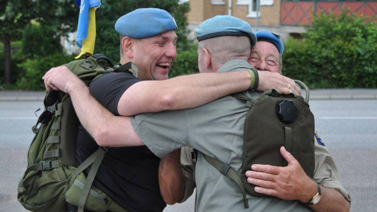 Общество, Шведские ветераны боевых действий напоминают о себе ежегодным маршем | Шведские ветераны боевых действий напоминают о себе ежегодным маршем