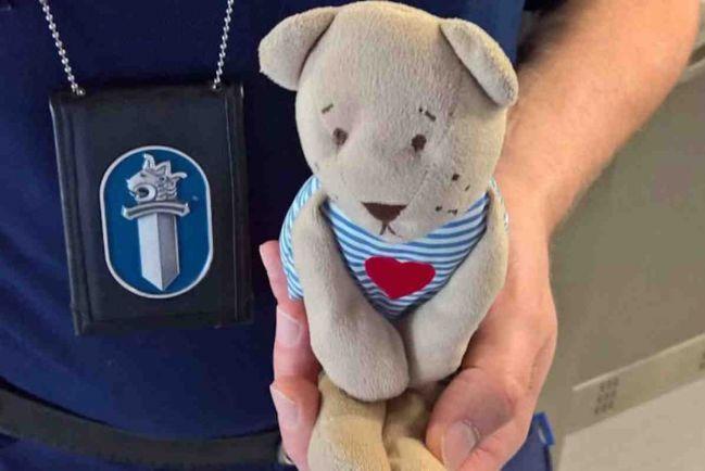 Калейдоскоп, Финская полиция разыскивает владельца плюшевого медвежонка | Финская полиция разыскивает владельца плюшевого медвежонка