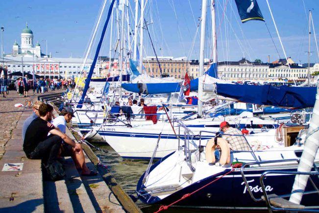 Калейдоскоп, В Таллинне финишировала международная яхтенная гонка Helsinki-Tallinna Race | В Таллинне финишировала международная яхтенная гонка Helsinki-Tallinna Race