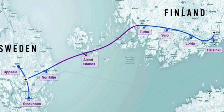 Бизнес, Первый в мире сверхскоростной вакуумный поезд может связать Стокгольм и Хельсинки | Первый в мире сверхскоростной вакуумный поезд может связать Стокгольм и Хельсинки