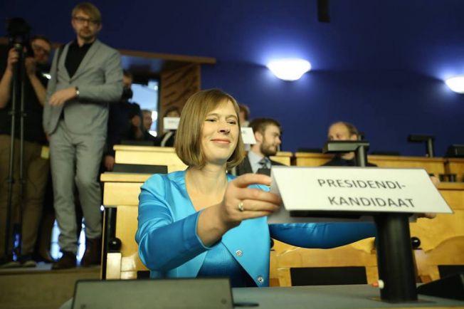 Общество, В Эстонии выбрали нового президента | В Эстонии выбрали нового президента