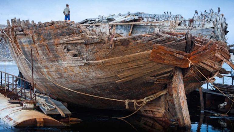 Общество, Затонувший в Арктике корабль Руаля Амундсена готов вернуться в Норвегию | Затонувший в Арктике корабль Руаля Амундсена готов вернуться в Норвегию