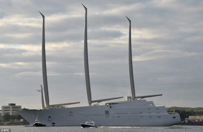 Калейдоскоп, Проход яхты российского миллиардера не повлияет на график работы аэропорта Копенгагена | Проход яхты российского миллиардера не повлияет на график работы аэропорта Копенгагена