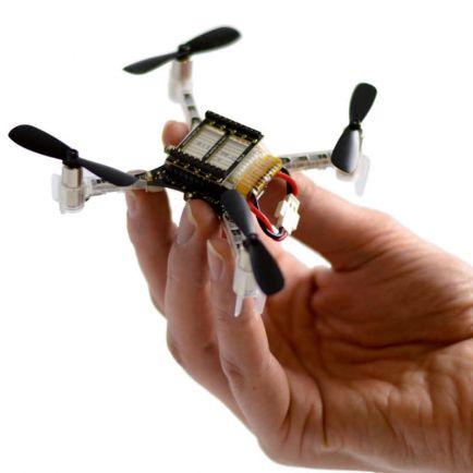 Калейдоскоп, Шведские инженеры научили мультикоптеры летать стаей | Шведские инженеры научили мультикоптеры летать стаей