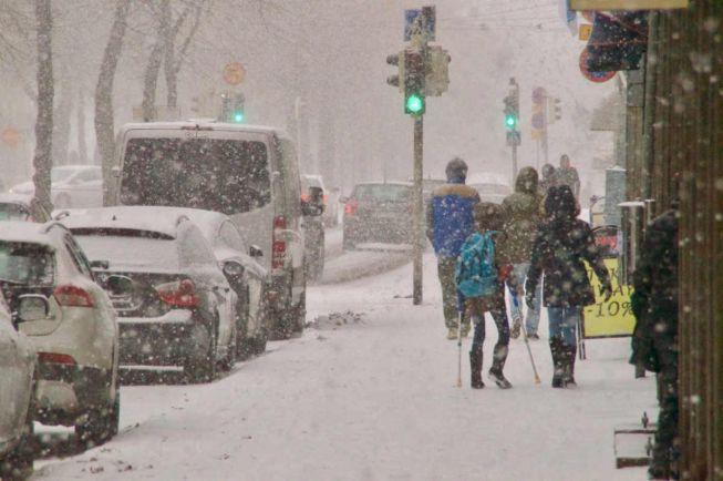 Калейдоскоп, Столица Швеции пережила самый снежный ноябрьский день за 111 лет | Столица Швеции пережила самый снежный ноябрьский день за 111 лет