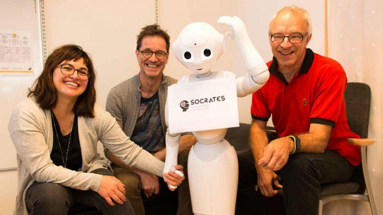 Общество, В Швеции разрабатывают роботов-сиделок | В Швеции разрабатывают роботов-сиделок