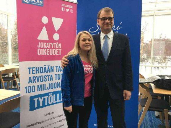 Общество, Финский премьер передаст свои полномочия девушке-подростку |