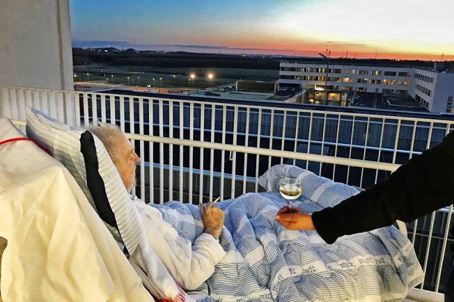 Общество, В датской больнице умирающему позволили наблюдать последний закат с сигаретой и стаканом вина | В датской больнице умирающему позволили наблюдать последний закат с сигаретой и стаканом вина