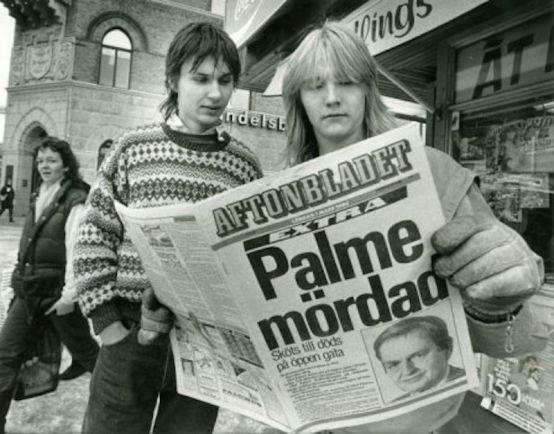 Статьи Калейдоскоп, Шведский детектив: нераскрытое убийство премьер-министра Швеции Улофа Пальме | Шведский детектив: убийство Улофа Пальме