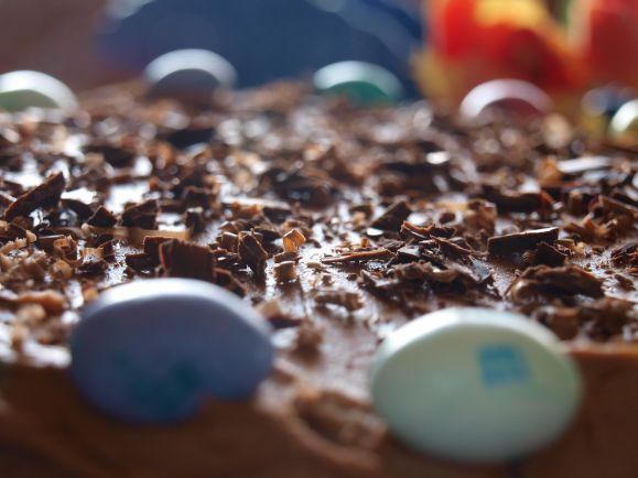 Рецепты, Шоколадный пасхальный торт | Шведский шоколадный пасхальный торт - Påskens chokladtårta