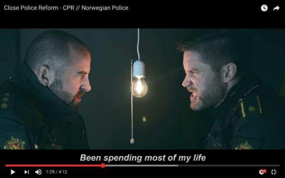 Калейдоскоп, Норвежские полицейские перепели классику гангста-рэпа, критикуя реформу полиции | Норвежские полицейские перепели классику гангста-рэпа, критикуя реформу полиции