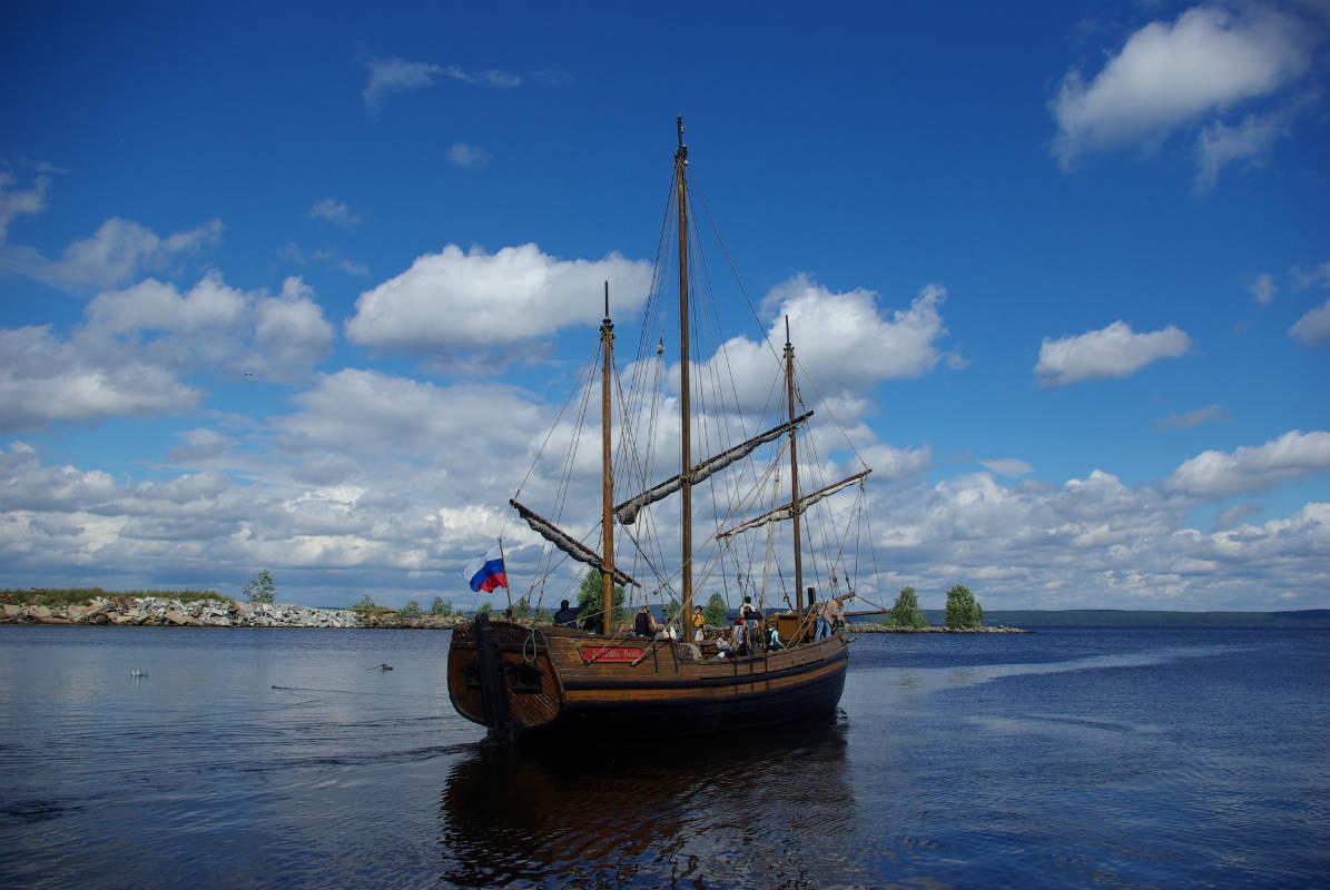 ScandiNews/ Реплика поморской лодьи «Святитель Николай»