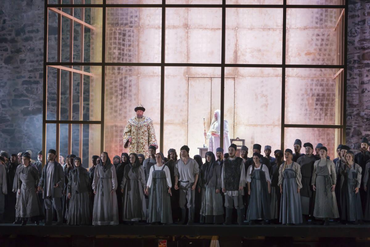 Savonlinna Opera Festival / Борис Годунов 2015 год