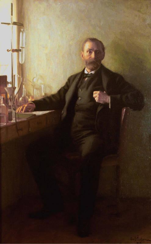 Эмиль Астерман. Портрет Альфреда Нобеля. 1915 г.