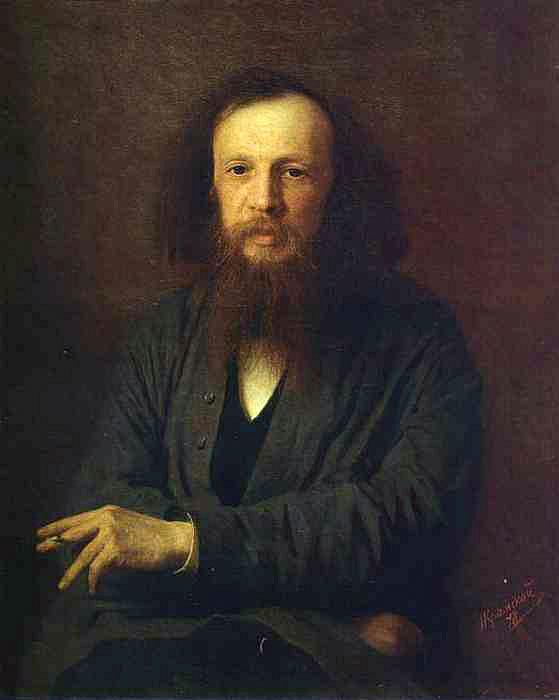 Крамской И.Н. «Портрет Дмитрия Менделеева».1878 г.