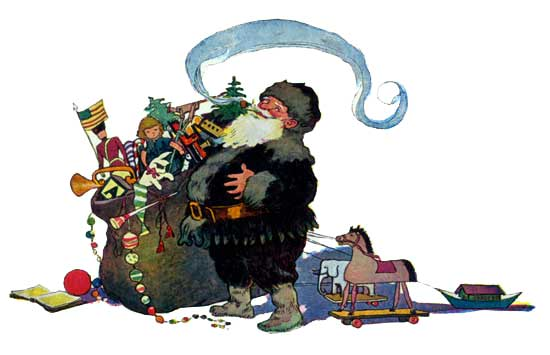 Project Gutenberg's Twas the Night before Christmas, by Clement C. Moore / http://www.gutenberg.org/files/17135/17135-h/17135-h.htm