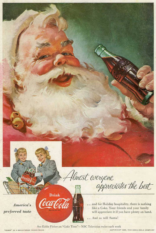 Flikr / PROInsomnia Cured Here / 1955 Coca-Cola