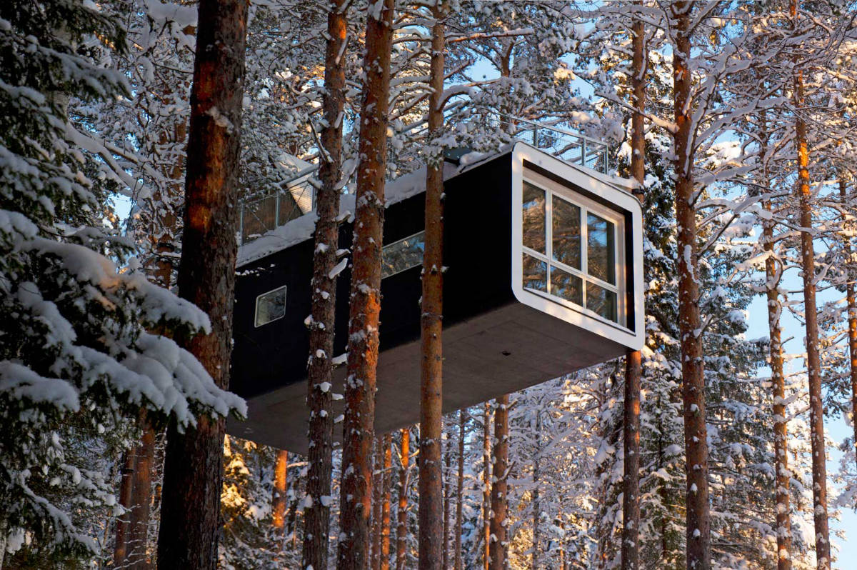 Arya Stone / Treehotel in Harads, Sweden